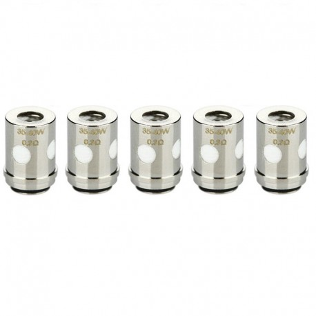 Authentic Vaporesso VECO ONE Traditional EUC Kanthal Coil Head - Silver, 0.3 ohm (35~40W) (5 PCS)