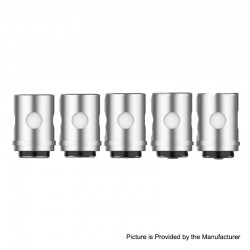 Authentic Vaporesso EUC Replacement CCELL Coil Head - Silver, 316 Stainless Steel, 1.0ohm (10~14W) (5 PCS)