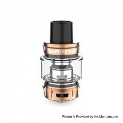 Authentic Vaporesso SKRR-S Sub-Ohm Tank Atomizer - Bronze, 0.2ohm / 0.15ohm, 5ml / 8ml, 26mm Diameter