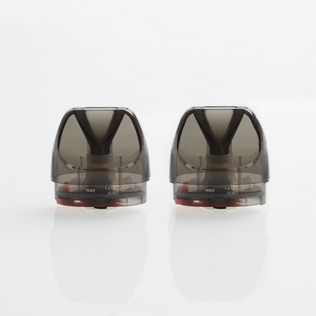 Authentic GeekVape Bident Pod Stystem Replacement Pod Cartridge w/ 0.8ohm Ni80 DL Coil - 3.5ml (2 PCS)