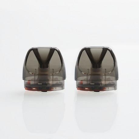 Authentic GeekVape Bident Pod Stystem Replacement Pod Cartridge w/ 1.2ohm Ni80 MTL Coil - 3.5ml (2 PCS)
