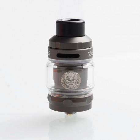 Authentic GeekVape Zeus Sub Ohm Tank Atomizer - Gun Metal, SS + Glass, 2ml / 5ml, 26mm Diameter