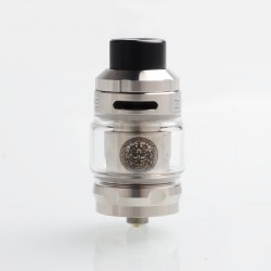 Authentic GeekVape Zeus Sub Ohm Tank Atomizer - Silver, SS + Glass, 2ml / 5ml, 26mm Diameter