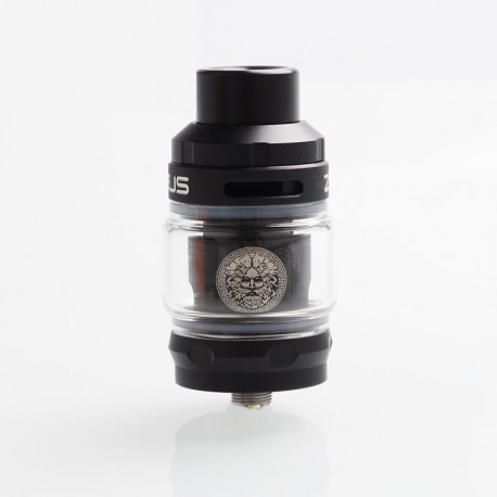 Authentic GeekVape Zeus Sub Ohm Tank Atomizer - Black, SS + Glass, 2ml / 5ml, 26mm Diameter