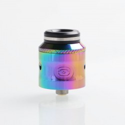 Authentic Augvape Occula RDA Rebuildable Dripping Atomizer w/ BF Pin - Rainbow, Stainless Steel, 24mm Diameter