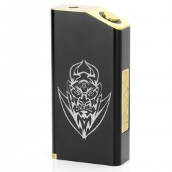 Black EL Diable Mechanical Box Mod
