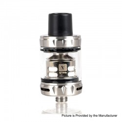 Authentic Vaporesso SKRR-S Mini Sub-Ohm Tank Atomizer - Silver, 0.15ohm / 0.2ohm, 3.5ml, 23mm Diameter