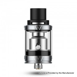 Authentic Vaporesso VECO Sub-Ohm Tank Atomizer - Silver, Stainless Steel + Glass, 0.3ohm, 2ml, 22mm Diameter