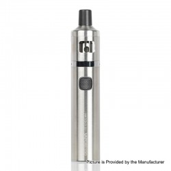 Authentic Vaporesso VM SOLO 22 2000mAh Vape Pen w/ VM 22 Sub-Ohm Tank Starter Kit - Silver, 0.6 / 1.0ohm, 2ml, 22mm Diameter