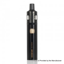 Authentic Vaporesso VM SOLO 22 2000mAh Vape Pen w/ VM 22 Sub-Ohm Tank Starter Kit - Black, 0.6 / 1.0ohm, 2ml, 22mm Diameter