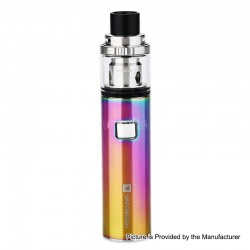 Authentic Vaporesso VECO Solo 1500mAh AIO Starter Kit w/ Sub-Ohm Tank - Rainbow, 0.2 / 0.3ohm, 2ml, 22mm Diameter