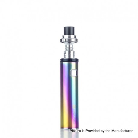 Authentic Vaporesso VECO Solo 3300mAh AIO Starter Kit w/ Sub-Ohm Tank - Rainbow, 0.3ohm, 4ml, 24.5mm Diameter