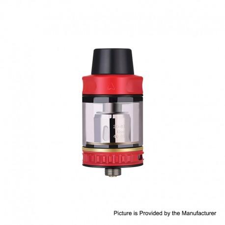 Authentic Vapor Storm Trip Sub-Ohm Tank Atomizer - Red, Stainless Steel + Glass, 0.2ohm, 2.0ml / 6.0ml, 24mm Diameter