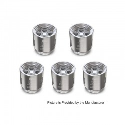 [Ships from HongKong] Authentic Eleaf HW4 Coil Head for Ello Atomizer - 0.3 Ohm (40~110W) (5 PCS)
