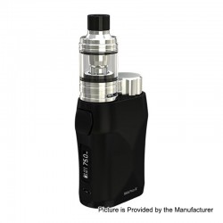 [Ships from HongKong] Authentic Eleaf iStick Pico X 75W TC VW Box Mod + MELO 4 Tank Kit - Black, 1~75W, 1 x 18650, 2ml, 0.15 Ohm