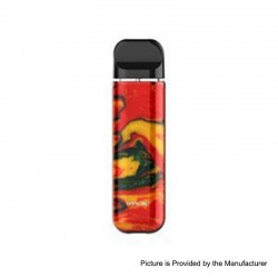 [Ships from HongKong] Authentic SMOKTech SMOK NOVO 2 25W 800mAh Pod System Starter Kit - Red Yellow, 1.0ohm, 2.0ml