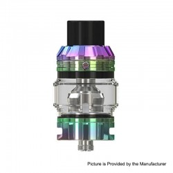 [Ships from HongKong] Authentic Eleaf Rotor Sub-Ohm Tank Atomizer - Dazzling, Stainless Steel + Glass, 0.2ohm, 5.5ml, 26mm Dia