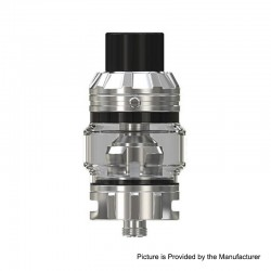 [Ships from HongKong] Authentic Eleaf Rotor Sub-Ohm Tank Atomizer - Silver, Stainless Steel + Glass, 0.2ohm, 5.5ml, 26mm Dia
