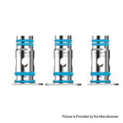 Authentic Aspire Breeze NXT Pod System Replacemnt Coil Head - Silver, 0.8ohm (15~20W) (3 PCS)