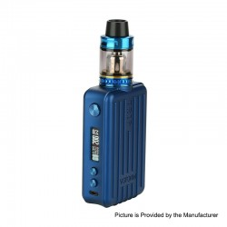 Authentic Vapor Storm Trip 200W Suitcase TC VW Variable Wattage Box Mod + Trip Tank Kit - Blue, 5~200W, 2 x 18650, 2ml / 6ml