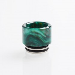 Authentic Reewape AS151 Replacement 810 Drip Tip for TFV8 / TFV12 Tank / Goon / Kennedy / Reload RDA - Green, Resin, 15mm