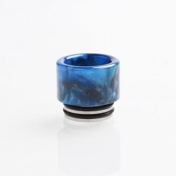 Authentic Reewape AS151 Replacement 810 Drip Tip for TFV8 / TFV12 Tank / Goon / Kennedy / Reload RDA - Blue, Resin, 15mm