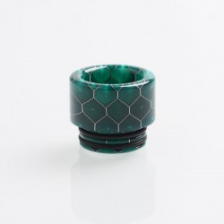 Authentic Reewape AS159S Replacement 810 Drip Tip for TFV8 / TFV12 Tank / Goon / Kennedy / Reload RDA - Green, Resin, 14mm