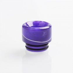 Authentic Reewape AS161 Replacement 810 Drip Tip for SMOK TFV8 / TFV12 Tank / Goon / Kennedy / Reload RDA - Purple, Resin, 14mm