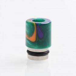 Authentic Reewape AS104 510 Drip Tip for RDA / RTA / RDTA / Sub-Ohm Tank Vape Atomizer - Green, Stainless Steel + Resin, 15.6mm