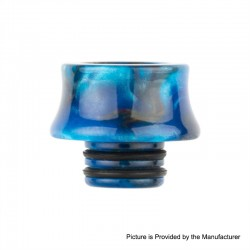 Authentic Reewape AS122 510 Drip Tip for RDA / RTA / RDTA / Sub-Ohm Tank Atomizer - Blue, Resin, 13mm