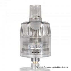 Authentic Vzone Preco MTL Disposable Sub Ohm Tank Clearomizer - Clear, 2.0ml, 0.9ohm, 24mm Diameter