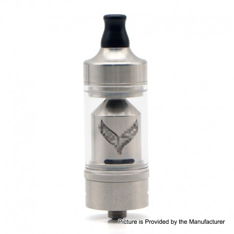 Authentic ShenRay Value Greek MTL RTA Rebuildable Tank Atomizer - Silver, 4.0ml, 316 Stainless Steel, 22mm Diameter