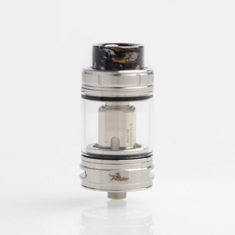 Authentic Ehpro Raptor Sub Ohm Tank Clearomizer Atomizer - Silver, SS + Glass, 4ml, 0.15ohm, 25mm