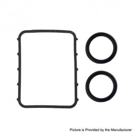 SXK Replacement O-Ring Seals for BB 60W / 70W Box Mod Kit - Black, Silicone (3 PCS)