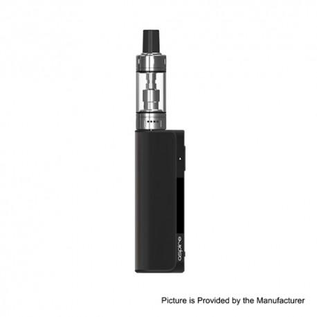 Authentic Aspire K Lite 900mAh Mod w/ K Lite Tank Starter Kit - Black, 1.6ohm / 1.8ohm, 2ml (Standard Edition)