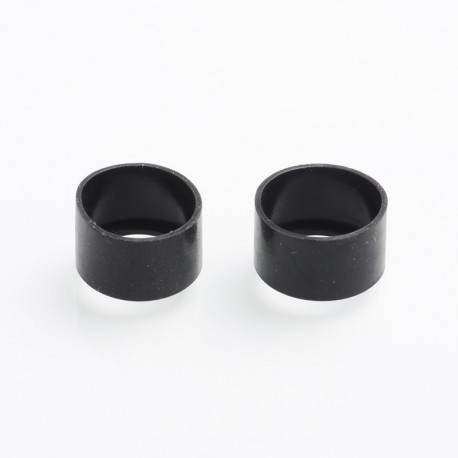 Authentic Steam Crave Glaz RDSA V1.1 Replacement Silicone Mouth Tip Cap - Black (2 PCS)