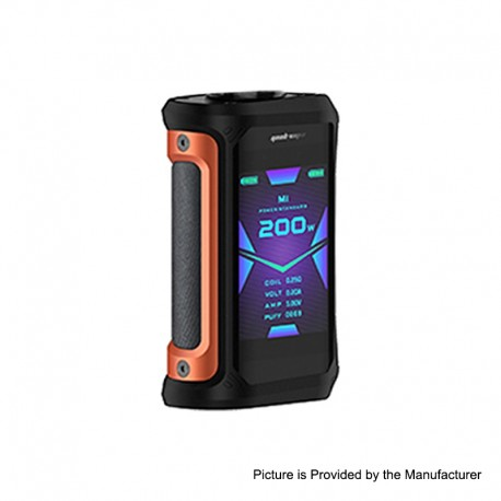 Authentic GeekVape Aegis X 200W TC VW Variable Wattage Mod - Signature Orange, 5~200W, 2 x 18650