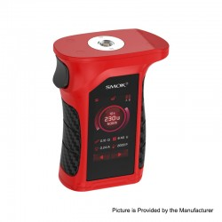 Authentic SMOKTech Mag P3 230W Touch Screen TC VW Variable Wattage Box Mod - Red Black, 1~230W, 2 x 18650 (Standard Edition)