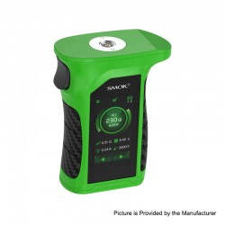 Authentic SMOKTech Mag P3 230W Touch Screen TC VW Variable Wattage Box Mod - Green Black, 1~230W, 2 x 18650 (Standard Edition)