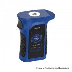 Authentic SMOKTech Mag P3 230W Touch Screen TC VW Variable Wattage Box Mod - Blue Black, 1~230W, 2 x 18650 (Standard Edition)
