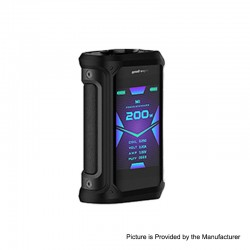 [Ships from HongKong 2] Authentic GeekVape Aegis X 200W TC VW Variable Wattage Mod - Stealth Black, 5~200W, 2 x 18650