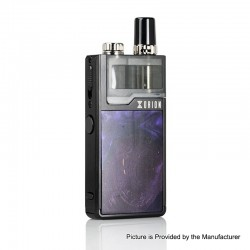 Authentic Lost Vape Orion Plus DNA 22W 950mAh VW Pod System Starter Kit - Black-Stabwood, 0.25 / 0.5ohm, 2ml