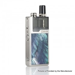 Authentic Lost Vape Orion Plus DNA 22W 950mAh VW Pod System Starter Kit - Silver-Ocean Scallop, 0.25 / 0.5ohm, 2ml