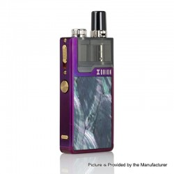 Authentic Lost Vape Orion Plus DNA 22W 950mAh VW Pod System Starter Kit - Purple-Ocean Scallop, 0.25 / 0.5ohm, 2ml
