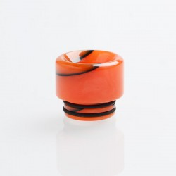 Authentic Reewape AS161 Replacement 810 Drip Tip for SMOK TFV8 / TFV12 Tank / Goon / Kennedy / Reload RDA - Red, Resin, 14mm