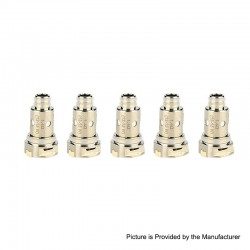 Authentic Nevoks Lusty Pod System Replacement Ceramic Coil Head - Silver, 1.4ohm (5 PCS)