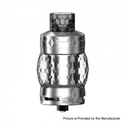 Authentic Aspire Odan Mini Sub Ohm Tank Vape Atomizer - Stainless Steel, SS + Pyrex Glass, 4ml / 5.5ml, 25mm Diameter