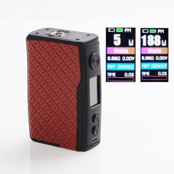 [Ships from HongKong 2] Authentic Vandy Vape Swell 188W VW Variable Wattage Box Mod - Red Arowana, 5~188W, 2 x 18650