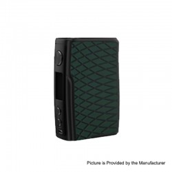 [Ships from HongKong 2] Authentic Vandy Vape Swell 188W VW Variable Wattage Box Mod - Green Anaconda, 5~188W, 2 x 18650