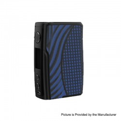 [Ships from HongKong 2] Authentic Vandy Vape Swell 188W VW Variable Wattage Box Mod - Blue Iguana, 5~188W, 2 x 18650